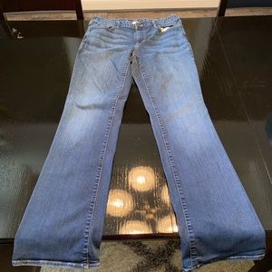EUC Eddie Bauer Slightly Curvy Jeans Size 14 Long